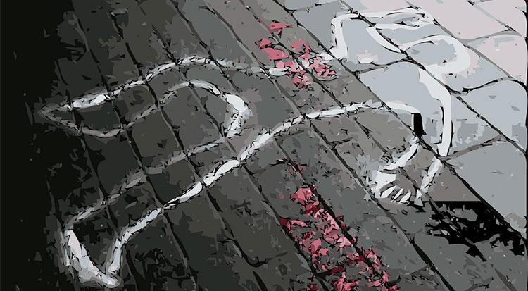 Tasa de delitos de homicidio en España